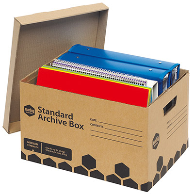 Recycled archiving products