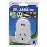 Jackson Outbound Travel Adaptors