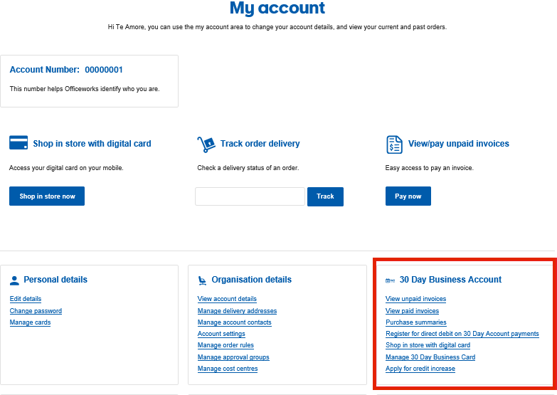 MyBusinessAccount