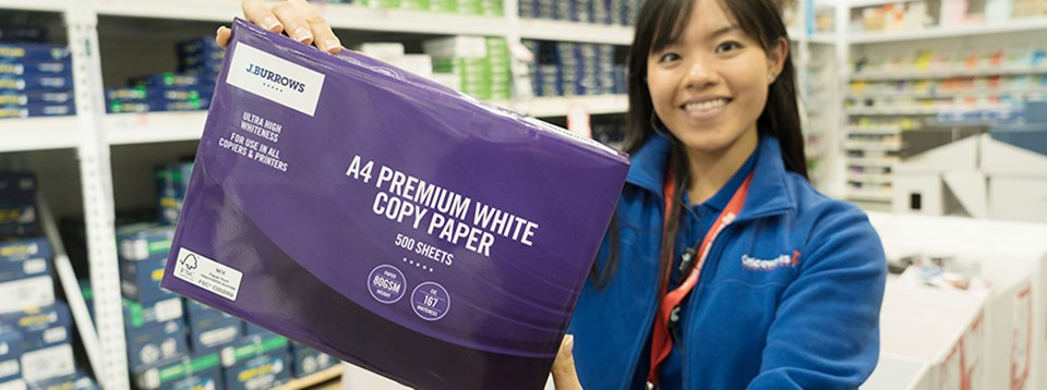 Officeworks is committed to growing sustainable paper sources