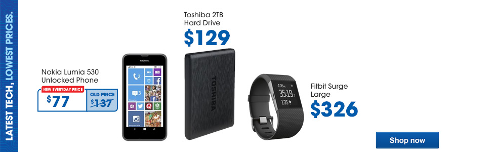 Latest Tech, Lowest Prices