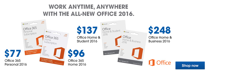 All-new Office 2016