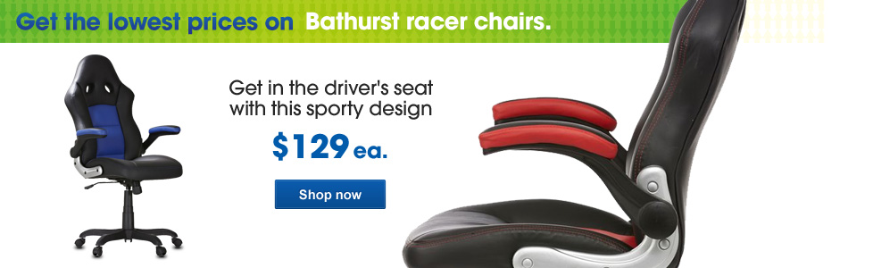 Bathurst racer chairs