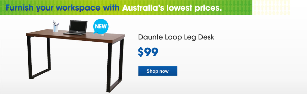 Daunte Loop Leg Desk