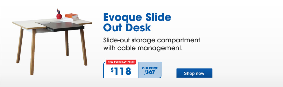 Evoque Slide Out Desk