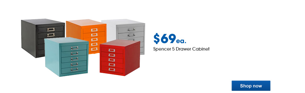 Spencer 5 Drawer Cabinet