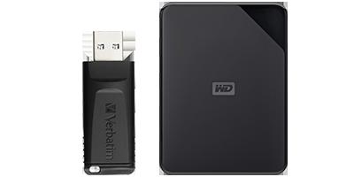USB & Hard Drives