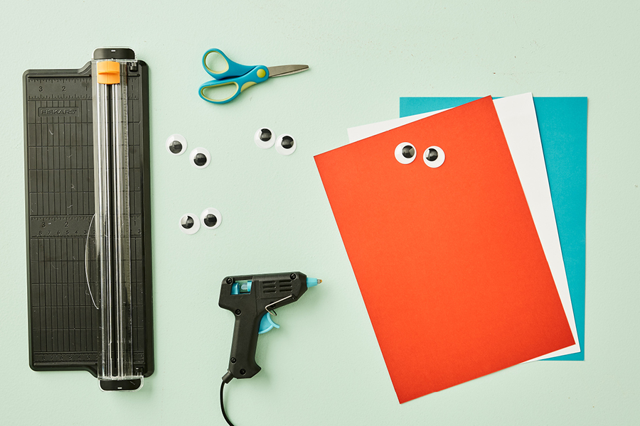 Everything you need for DIY birthday party invitations.