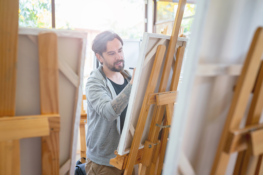 One of the key benefits of art classes for adults is getting to meet like-minded people