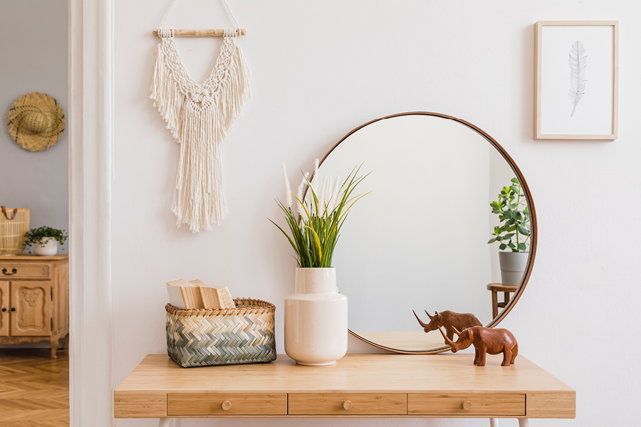 Macrame wall hangings are a great art and craft ideas for adults that double as decor
