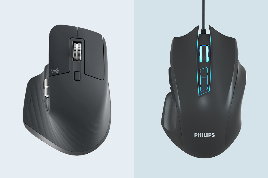 Improve office productivity with a smart mouse loaded with special features.