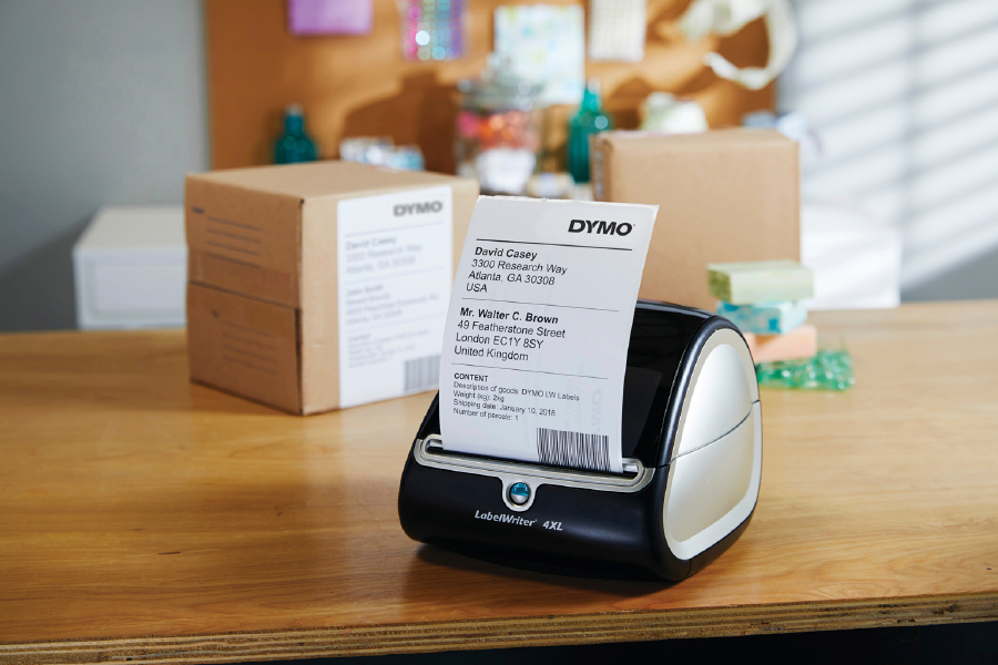 The Dymo Labelwriter label printer is a handy gadget that can improve office productivity.