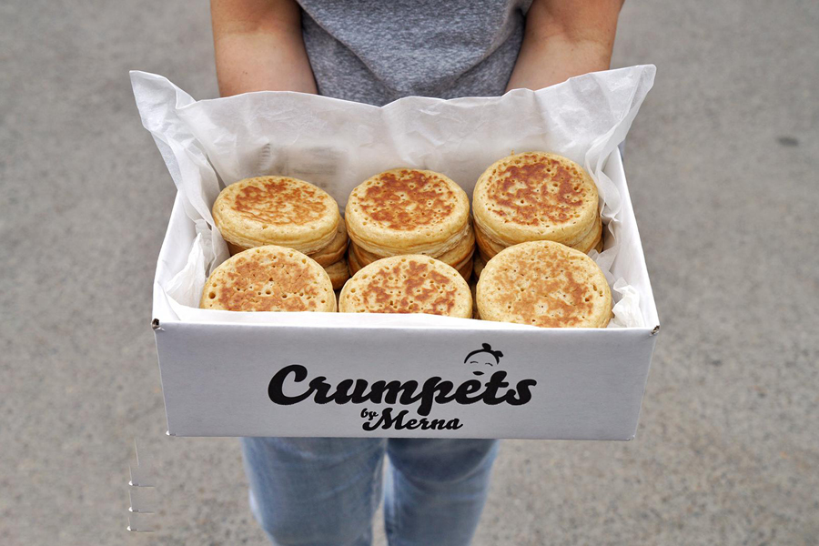 Crumpets by Merna attributes small business success to staying on top of a changing industry
