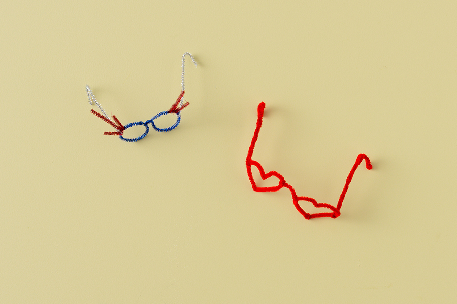 Try making these cool spectacles with pipe cleaner as a way to keep kids entertained