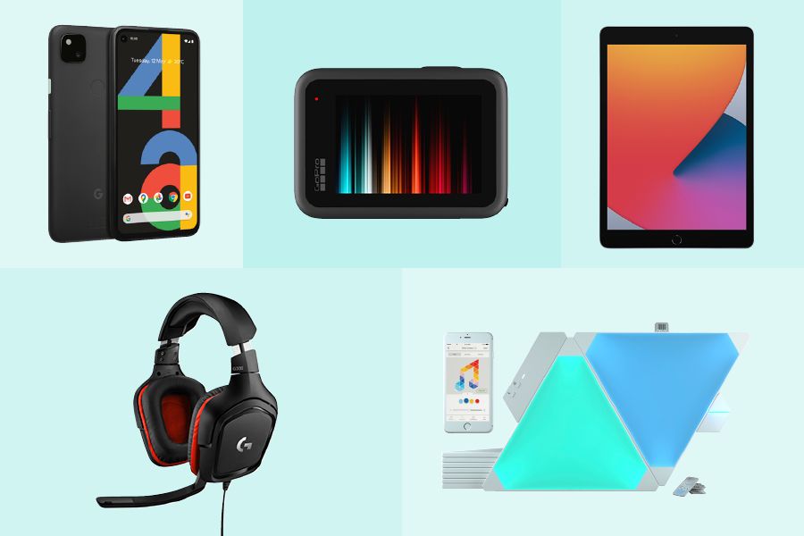 Cool tech gift ideas for Christmas 2020 include an iPad, GoPro and gaming headsets