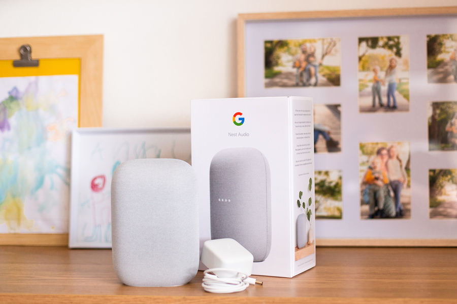 The Google Nest Audio is a stylish smart home assistant with a great speaker