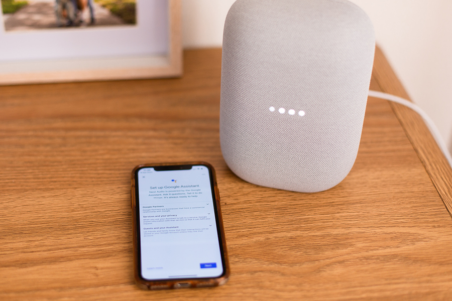 The Google Nest Audio is easy to use and controls smart home devices with the Google Home app