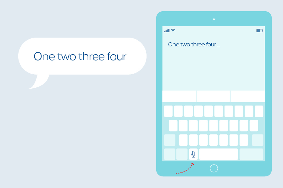 This cool iPad app, Dictation, will transform your speech into text.
