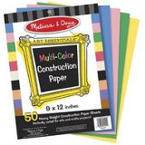 View the Range of Kids Construction paper
