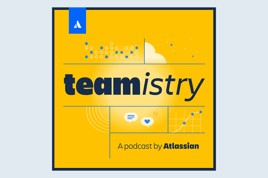 The best business podcast to listen to this month is Teamistry.