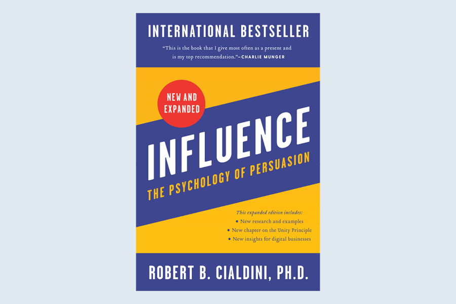 The best business book to read this month is the revised edition of The Psychology of Persuasion.