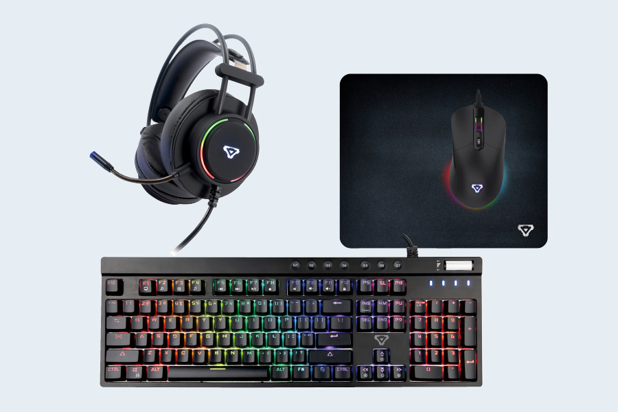 A gaming mouse and keyboard are gaming technology that can help improve your game.
