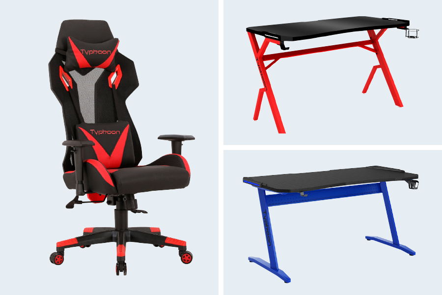 Don't forget about finding a great gaming chair or desk when upgrading your gaming technology