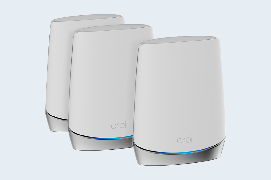 Keep your gaming setup online at all times with a modern WiFi router or mesh system.