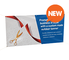 Outdoor Banners (New)