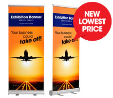 Retractable Exhibition Banner (New Lowest Posters)