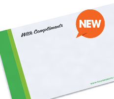 With Compliments Slips (New)