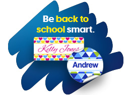 Back To School Personalisation